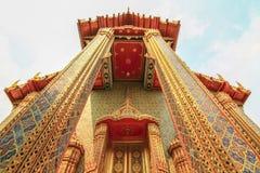 Молельня на грандиозном королевском дворце Бангкоке Таиланде Стоковое Изображение RF