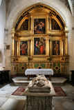 молельня собора burgos Стоковое Изображение