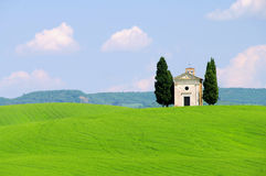 Молельня Тосканы Стоковая Фотография RF