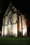 Молельня Loretto в Санта Фе, Неш-Мексико на ноче Стоковое Фото