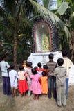 молитва группы стоковое фото