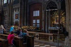 Молитва искренности стоковые изображения