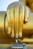 Молитва на руке Будды Стоковое Изображение RF
