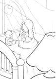 молитва ребенка Стоковые Фотографии RF