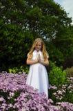 молитва сада Стоковые Фото