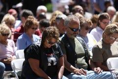 молитва соблюдением дня национальная Стоковые Фотографии RF
