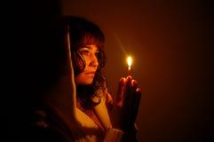 молитва Стоковые Изображения