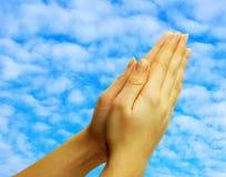 молитва Стоковое Изображение