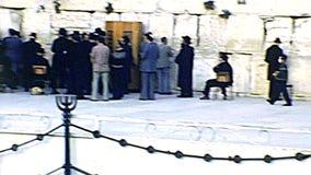 Молитвы западной стены еврейские Иерусалима акции видеоматериалы