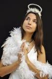 молить ангела Стоковые Изображения RF
