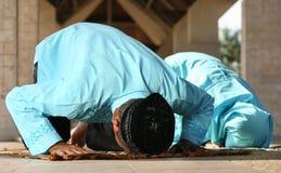 молить мусульманства стоковые изображения rf