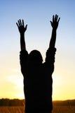 молить человека Стоковые Фотографии RF