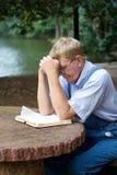 молить человека Стоковые Изображения RF