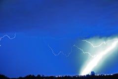 молния болта толщиная Стоковая Фотография