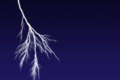 молния болта Стоковое Изображение