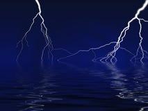 молния болта Стоковые Изображения