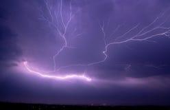 молния болта Стоковые Фотографии RF