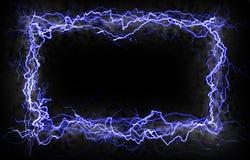 молния граници Стоковая Фотография RF