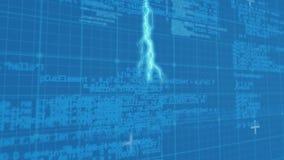 Молния и коды программы видеоматериал