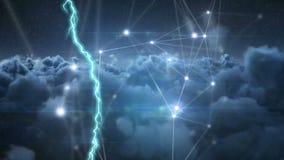 молния и несимметричные линии сток-видео