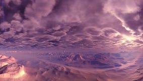 Молния над горами акции видеоматериалы