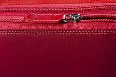 Молния сумки женщины Стоковые Фото