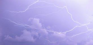 молния стоковая фотография rf