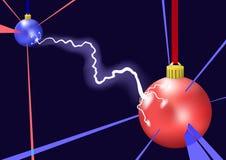 молния иллюстрация вектора