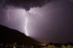 молния Стоковое Изображение RF