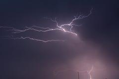 молния 3 Стоковое Фото