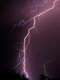 молния 4 Стоковые Фотографии RF