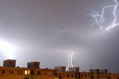молния Стоковые Изображения
