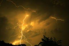 молния Стоковое Изображение
