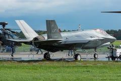 Молния II Lockheed Martin F-35 бойца скрытности multirole Стоковая Фотография RF