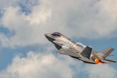 Молния Lockheed Martin F-35 Стоковое Изображение