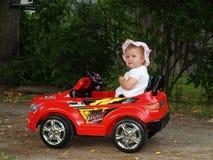 Молодая автомобилистка Стоковое Изображение