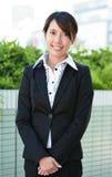 Молодая азиатская женщина дела Стоковое Изображение RF