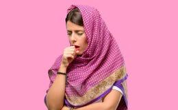 Молодая арабская женщина стоковое фото rf