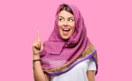 Молодая арабская женщина стоковые фото