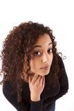 Молодая африканская женщина Стоковое Изображение RF