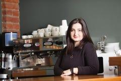 Молодая женщина - предприниматель стоковое изображение rf
