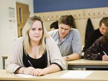 Молодая женщина студента Стоковая Фотография RF
