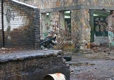 Молодая женщина с пушкой Стоковое Фото