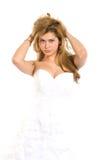 Молодая женщина Ttractive стоковые фотографии rf