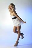 Молодая жизнерадостная девушка Стоковые Фотографии RF