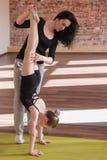 Молодая жизнь балерины Важное преподавательство Стоковое фото RF