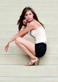 Молодая красивейшая женщина Стоковые Фотографии RF