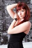 Молодая красивейшая женщина стоковая фотография