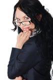 Молодая прелестно женщина дела Стоковая Фотография RF