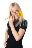 Молодая прелестно женщина дела Стоковая Фотография